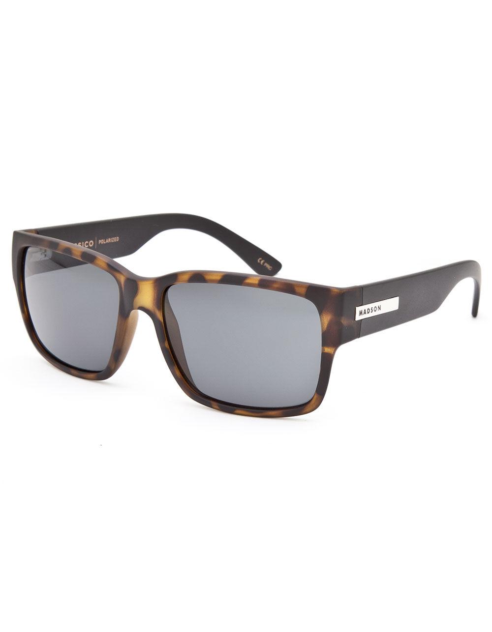 MADSON Classico Tortoise Polarized Sunglasses