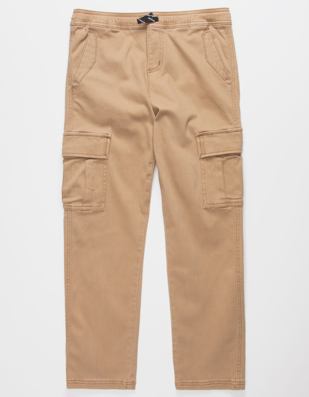 CHARLES AND A HALF Cargo Tan Boys Jogger Pants