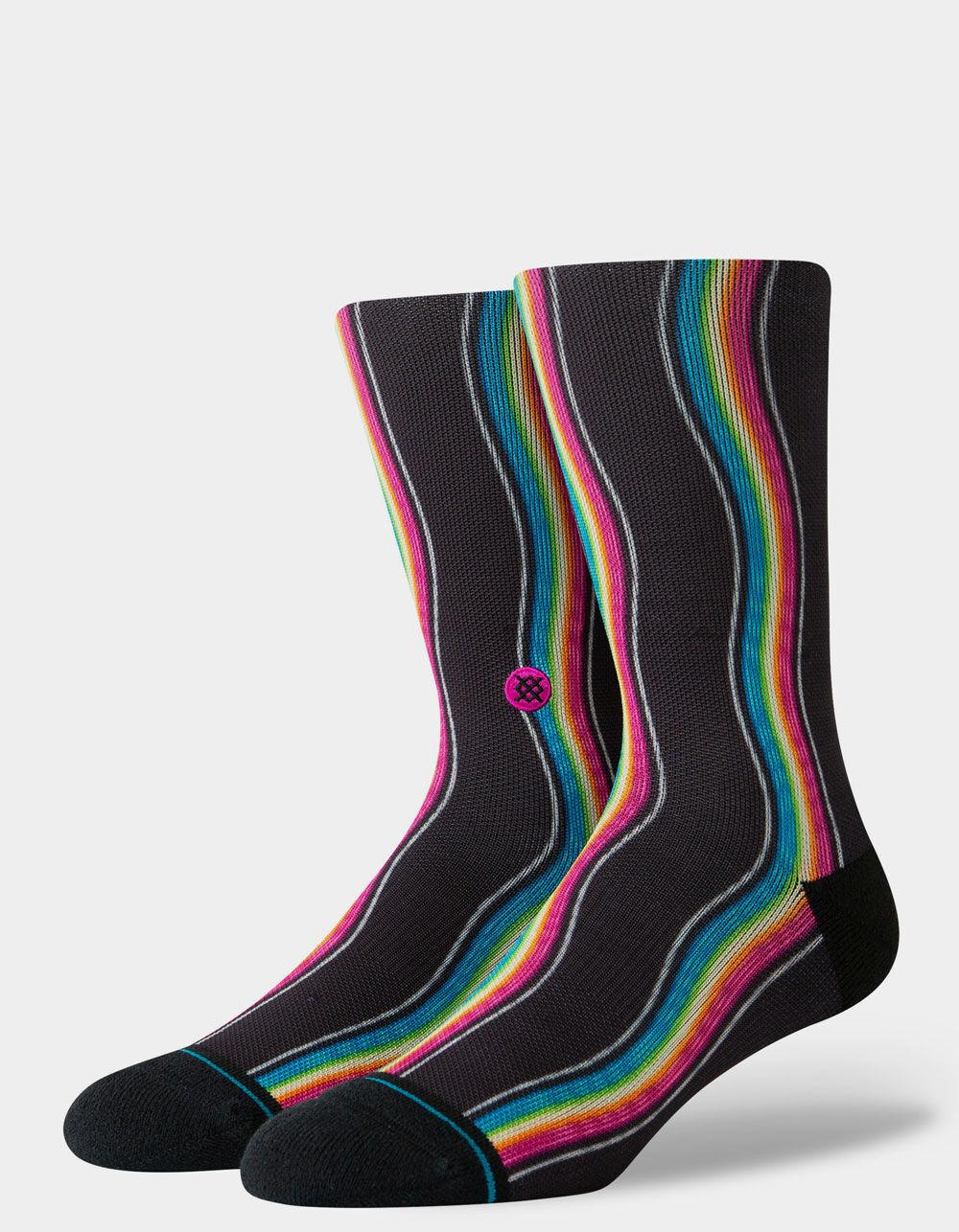 STANCE Rainbow Wave Crew Socks