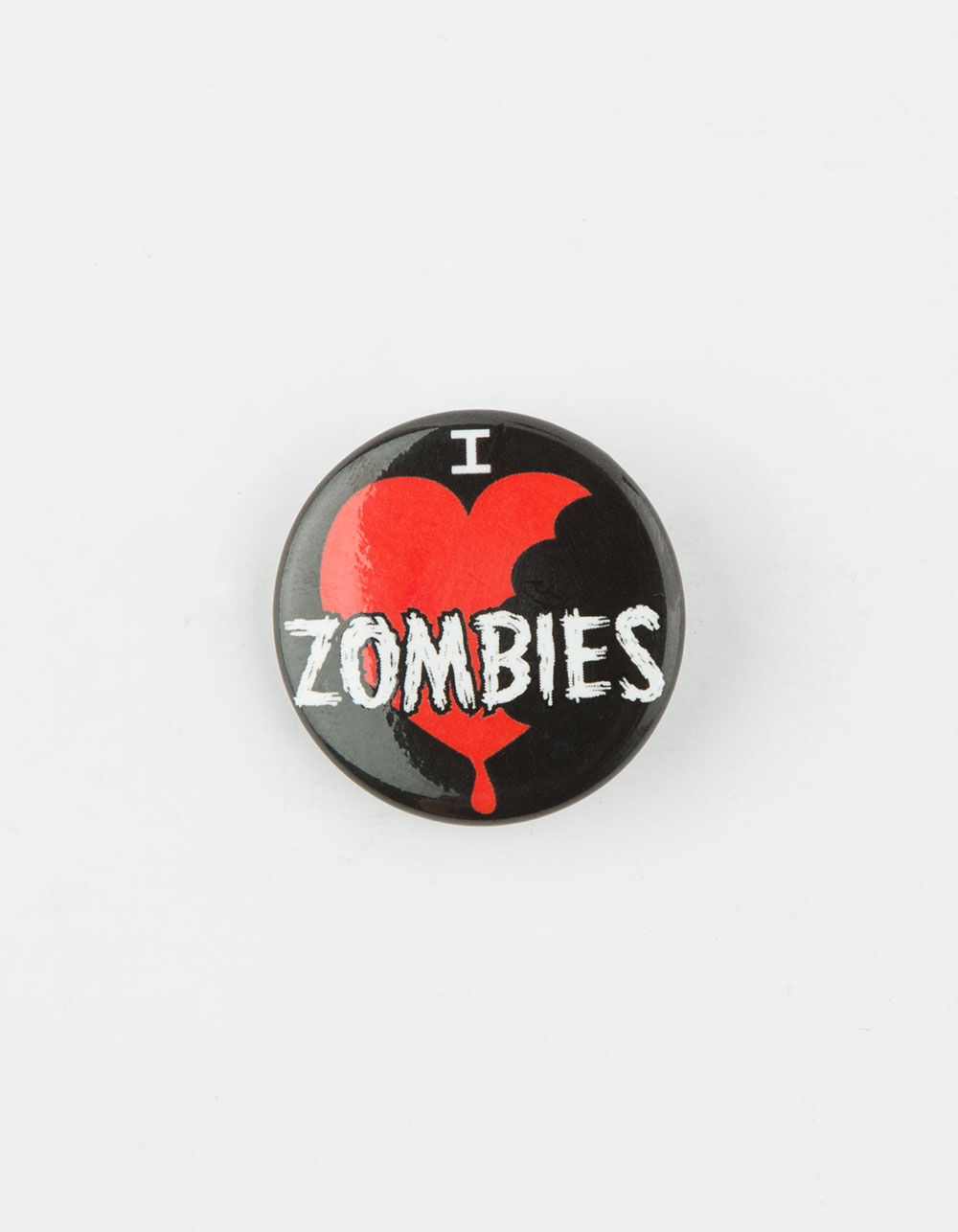 Image of I HEART ZOMBIES PIN