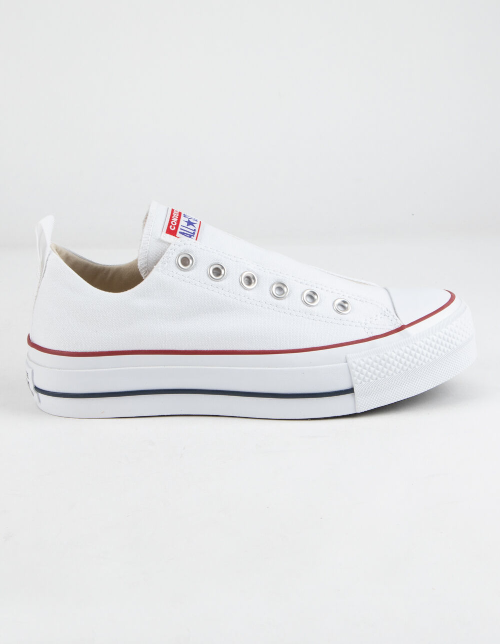Image of CONVERSE CHUCK TAYLOR ALL STAR PLATFORM SLIP WHITE SHOES