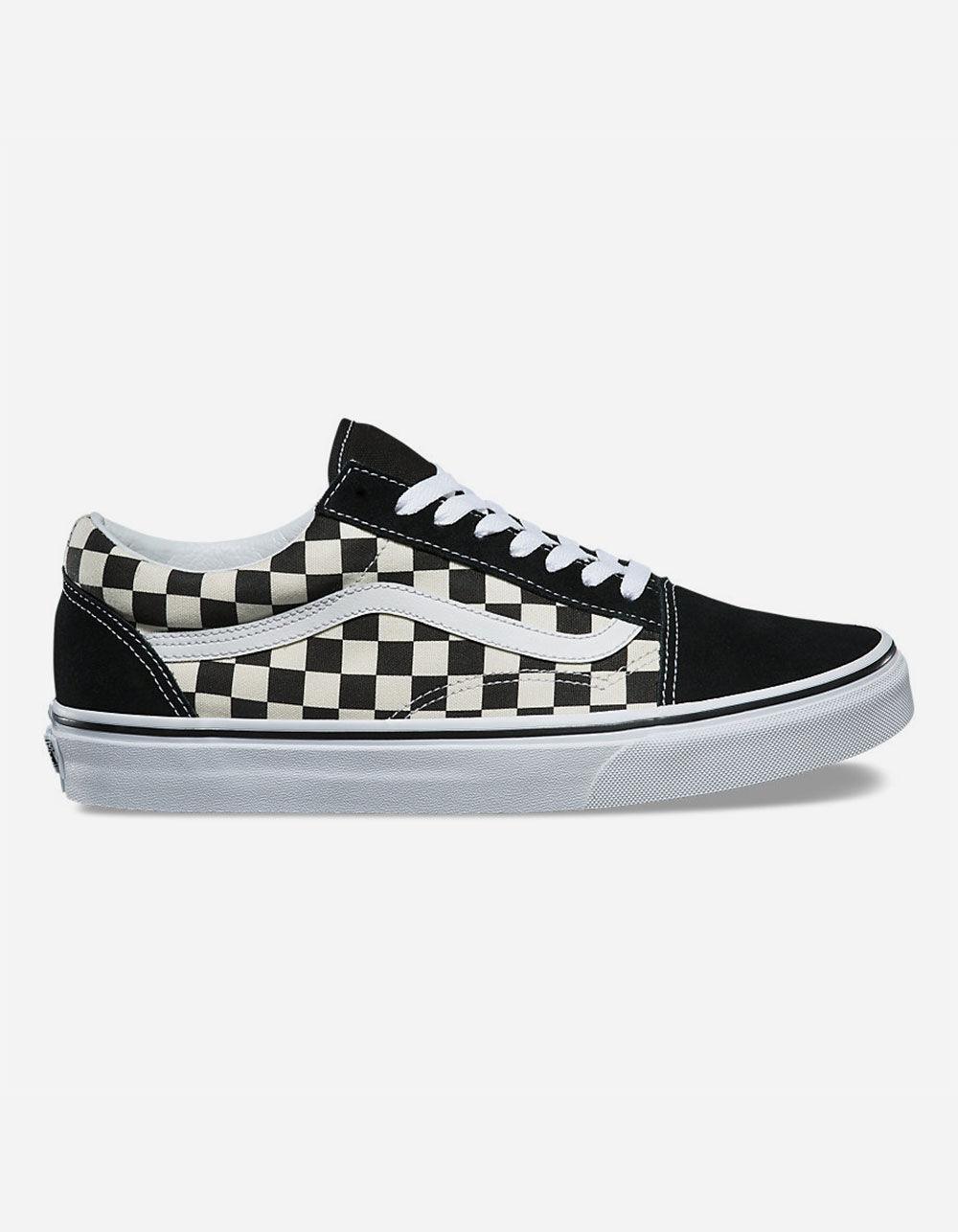 VANS Checkered Old Skool Black & White Shoes