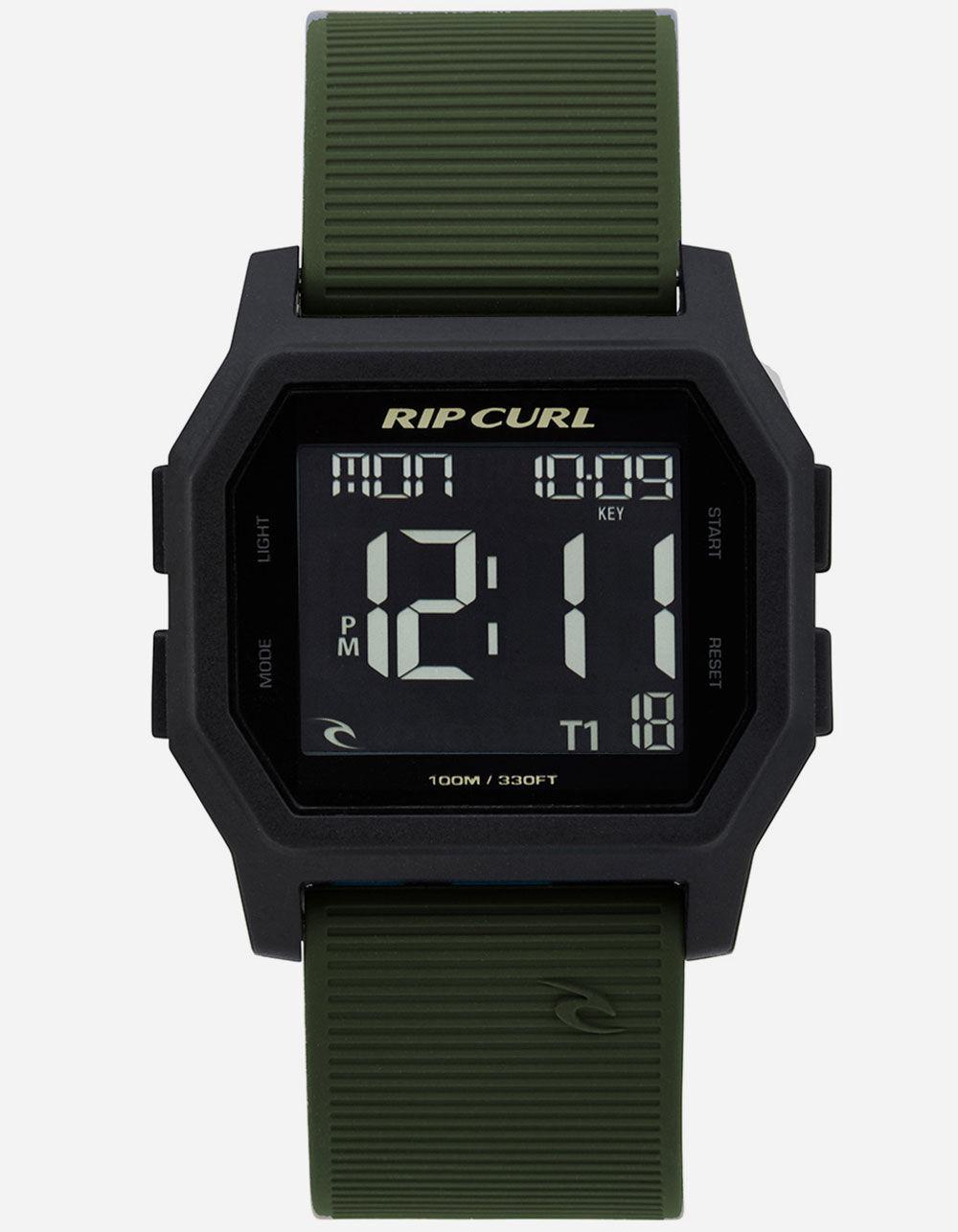 RIP CURL Atom Black & Green Digital Watch