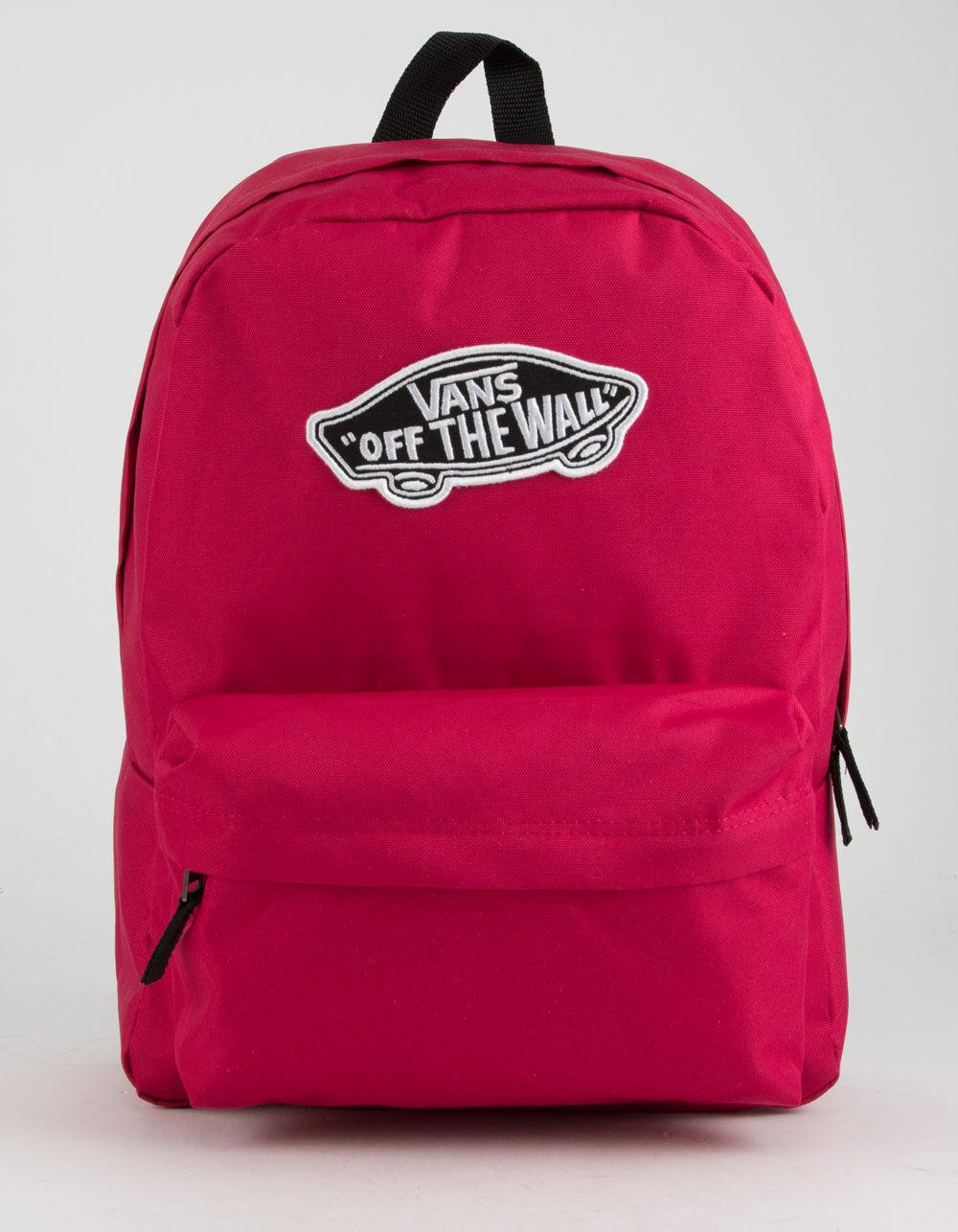 VANS Realm Cerise Backpack