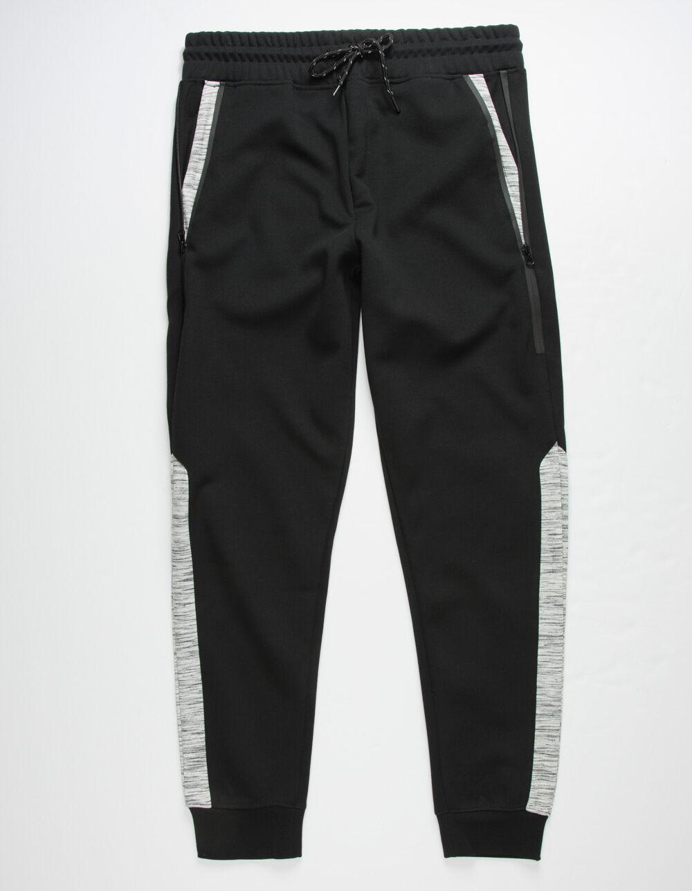 Image of BROOKLYN CLOTH INTERTECH BLACK JOGGER PANTS