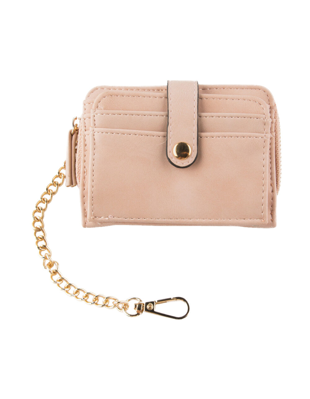 VIOLET RAY ZIP AROUND BLUSH WALLET