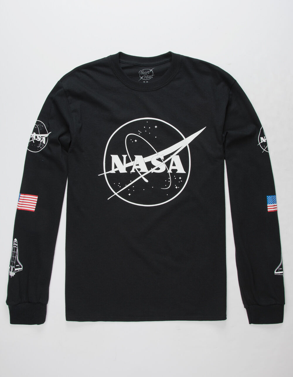 NEON RIOT Nasa Symbol T-Shirt