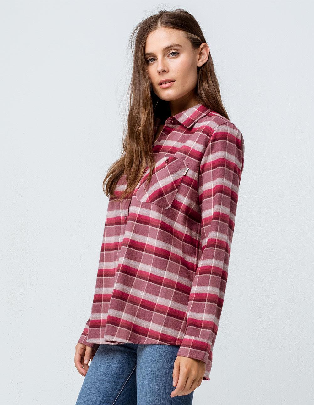 BURTON Grace Rose Flannel Shirt
