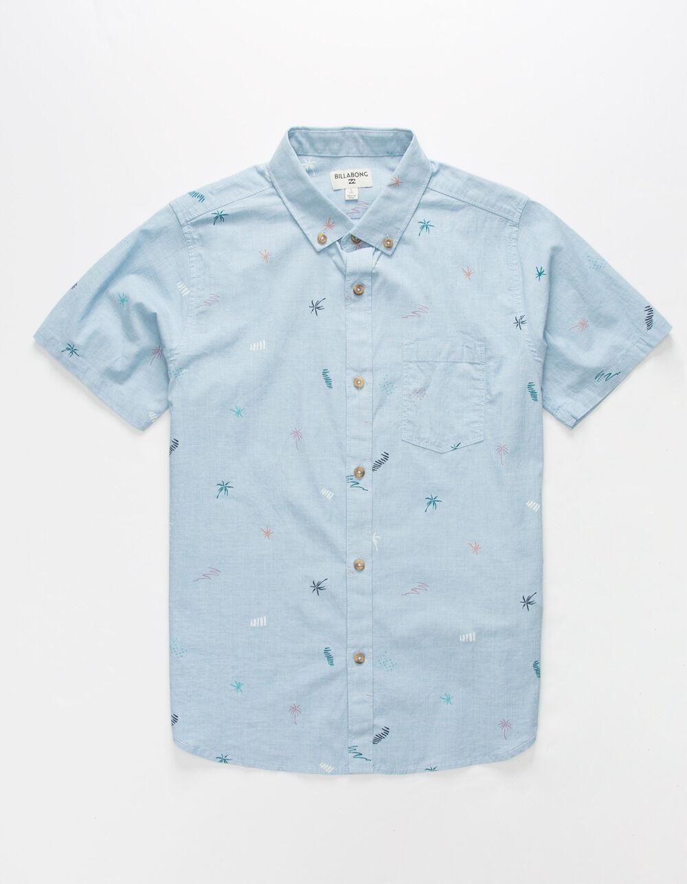 BILLABONG Sundays Mini Blue Boys Shirt