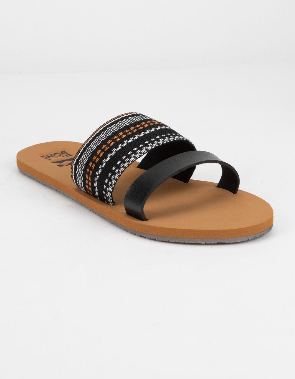 BILLABONG Slide Away Black Sandals