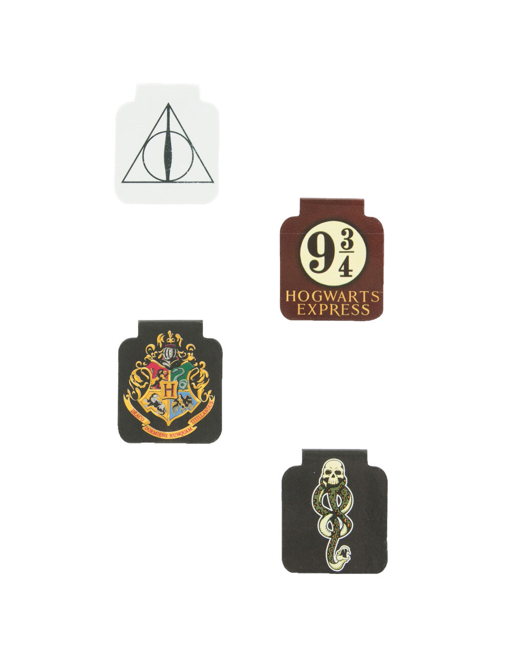 Image of HARRY POTTER MAGNETIC BOOKMARKS