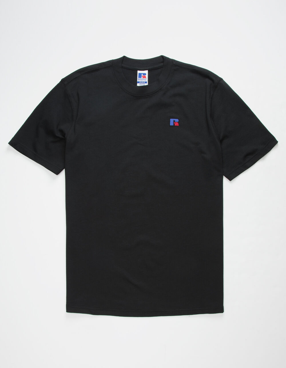 RUSSELL ATHLETIC Baseliner Black T-Shirt