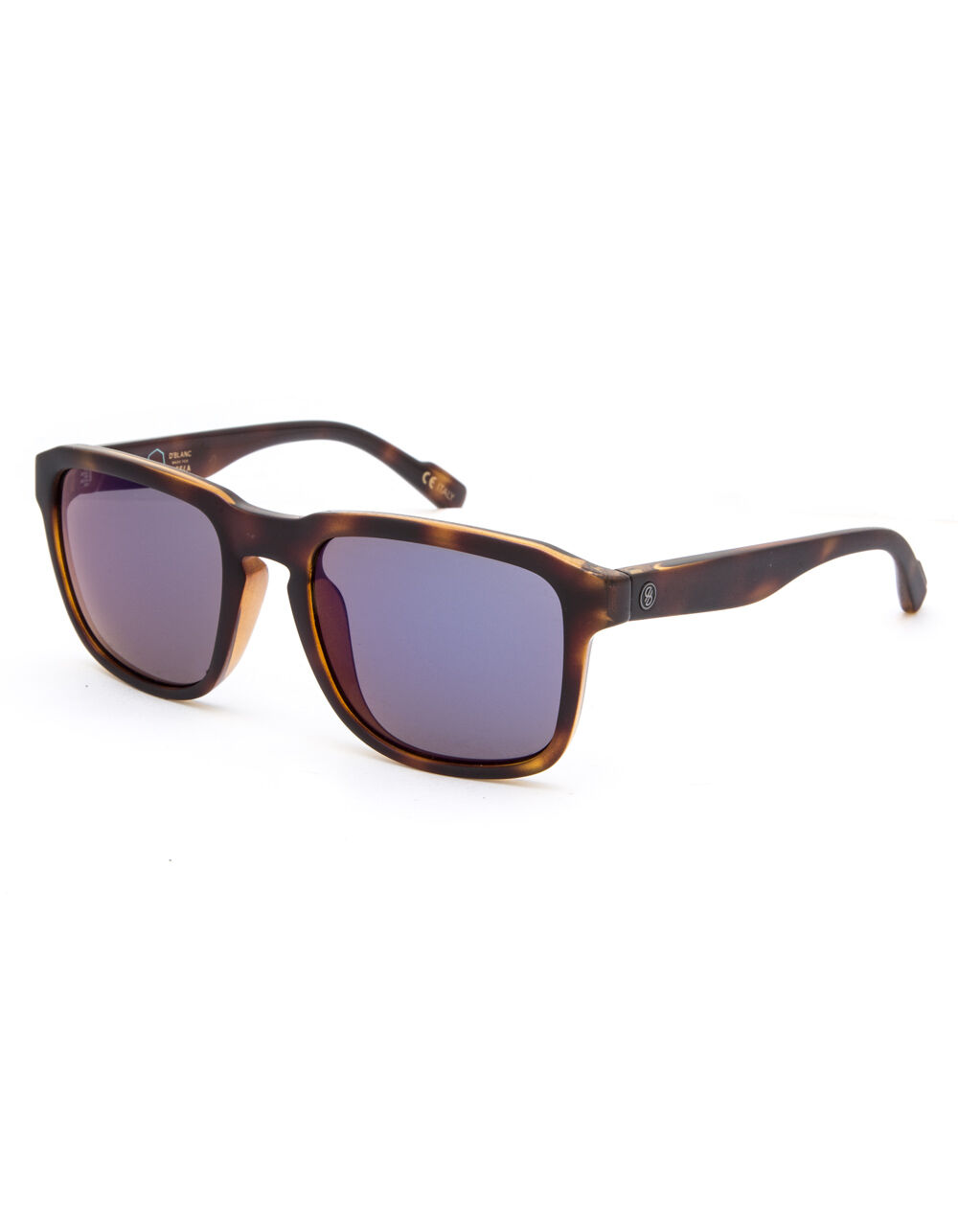 Image of D'BLANC AFTER HOURS VISSLA FLAT GLOSS TORT & COBALT SUNGLASSES