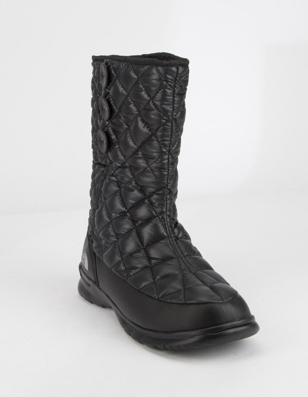 THE NORTH FACE Thermoball Button-Up Black Boots