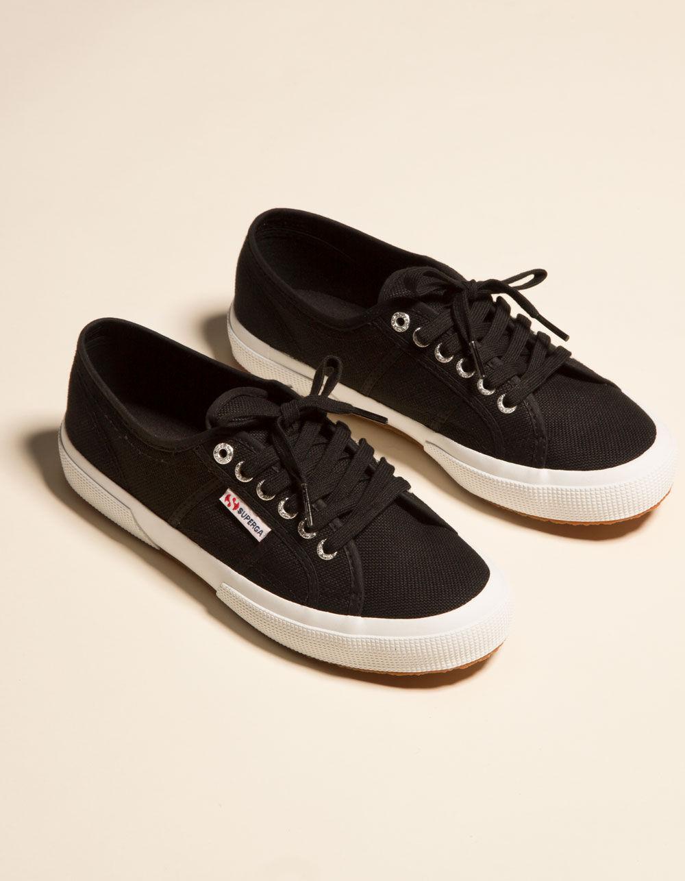 SUPERGA 2750 Cotu Classic Black & White Shoes