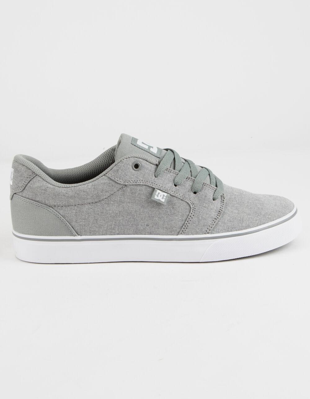 DC SHOES Anvil TX SE Light Gray Shoes