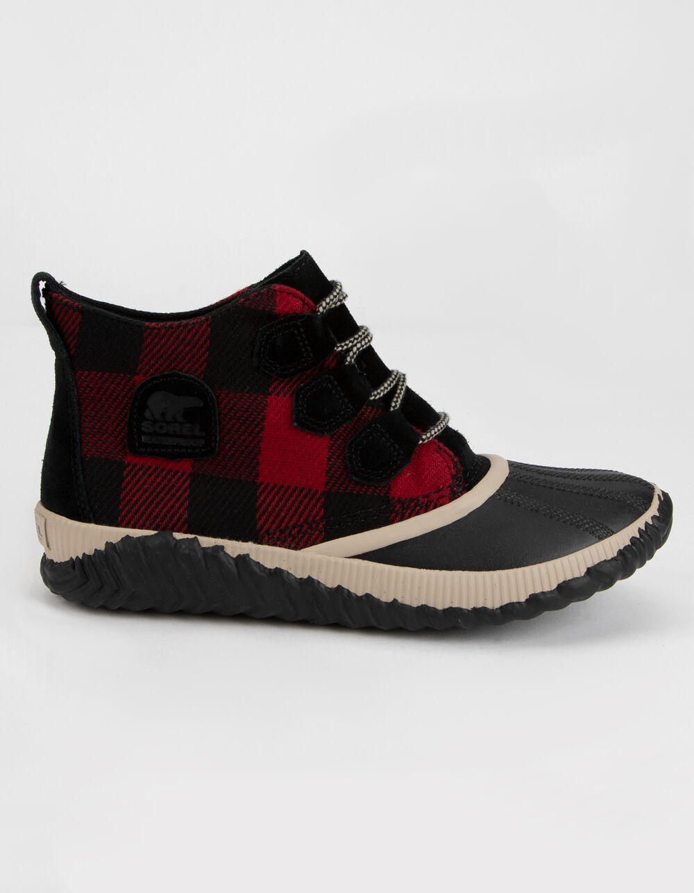 Image of SOREL Out 'N About Plus Black Boots