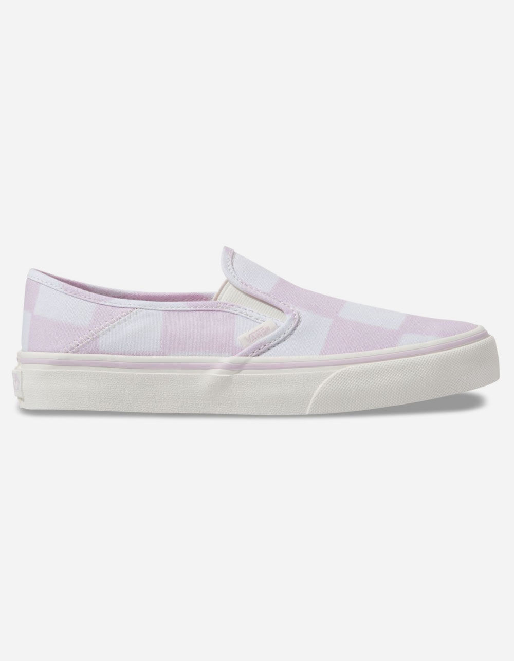 VANS Big Check Slip-On SF Lilac & Marshmallow Shoes