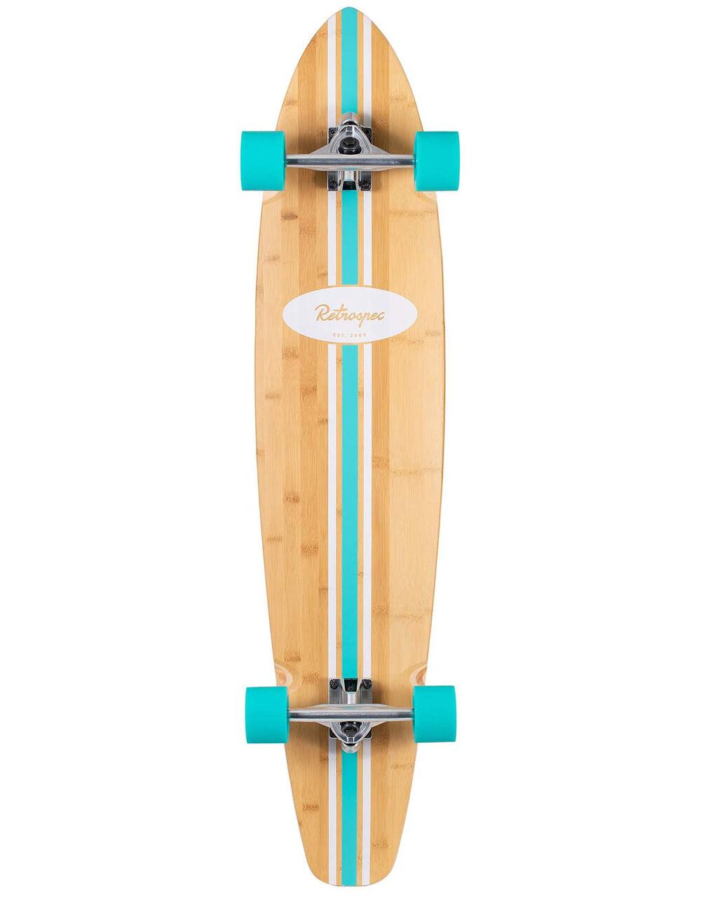 """RETROSPEC Zed 44"""" Longboard Skateboard"""