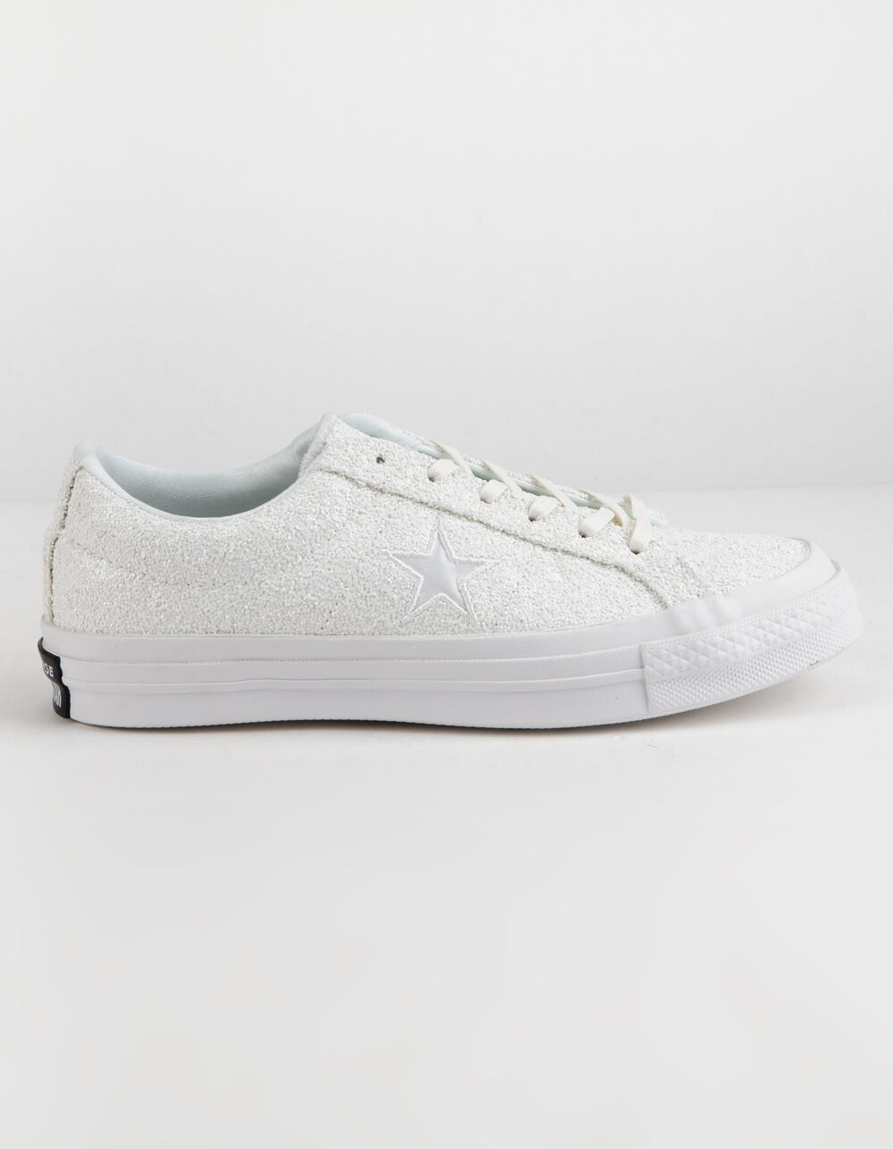 CONVERSE ONE STAR OX GLITTER WHITE SHOES