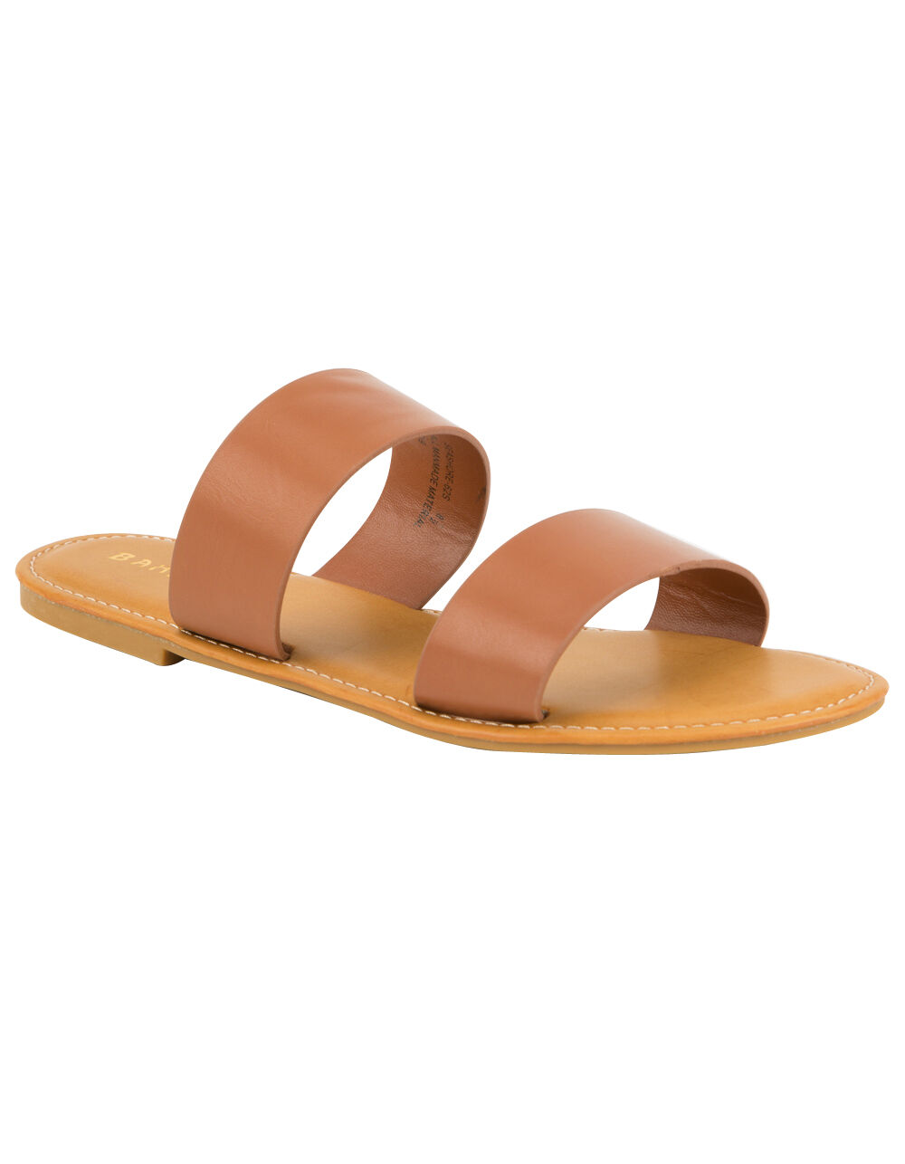 BAMBOO DOUBLE STRAP SANDALS