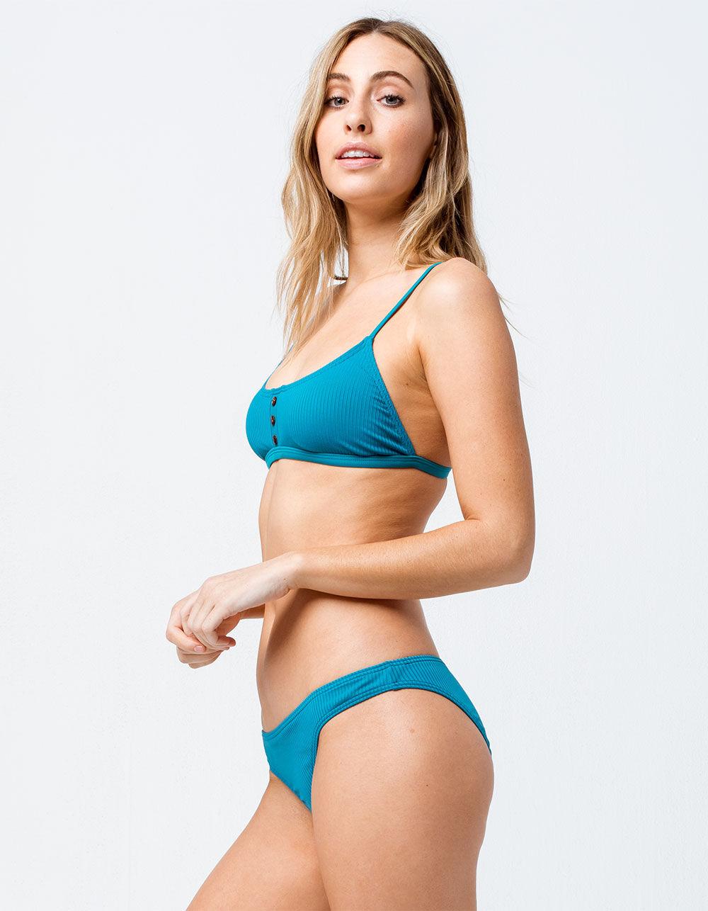 DAMSEL Henley Hipster Bikini Bottoms
