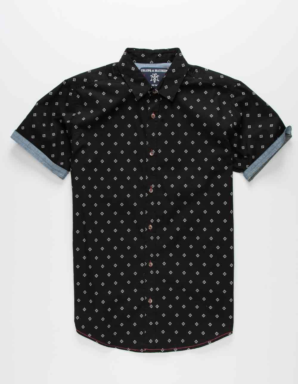 Image of TRANQUILITY & MAYHEM Diamonds Boys Shirt