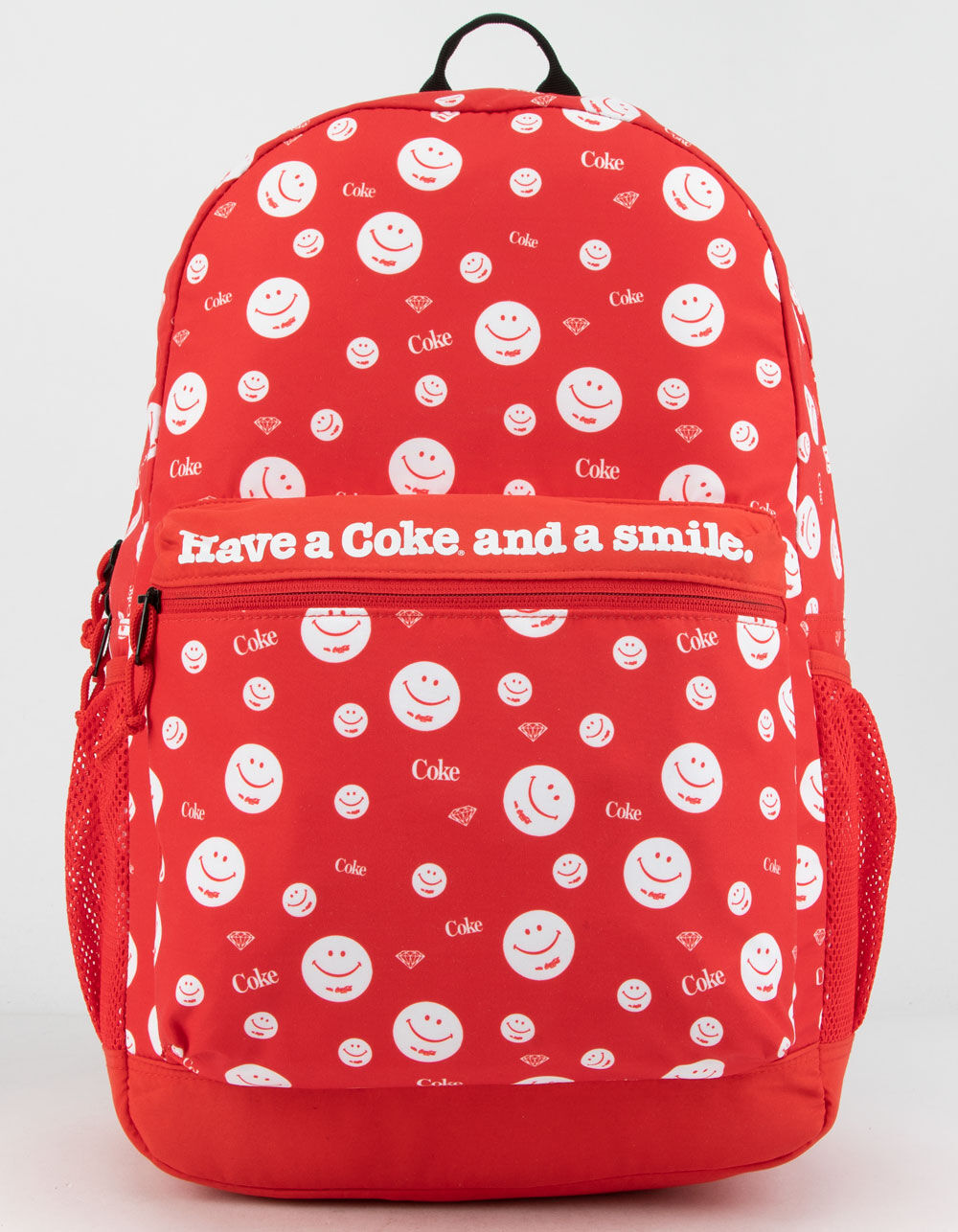 DIAMOND SUPPLY CO. x Coca-Cola Smiley Red Backpack