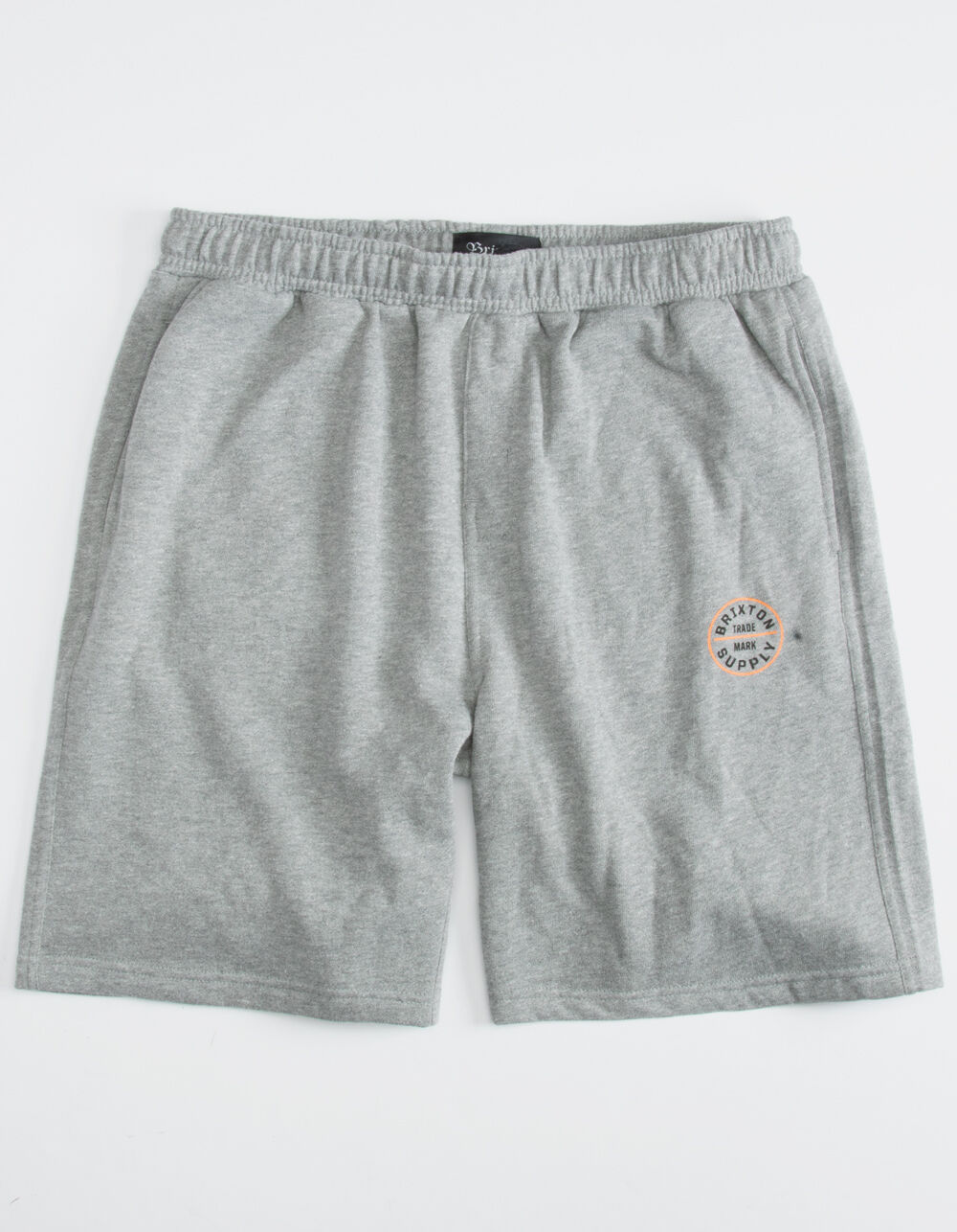 BRIXTON Oath Heather Gray Sweat Shorts