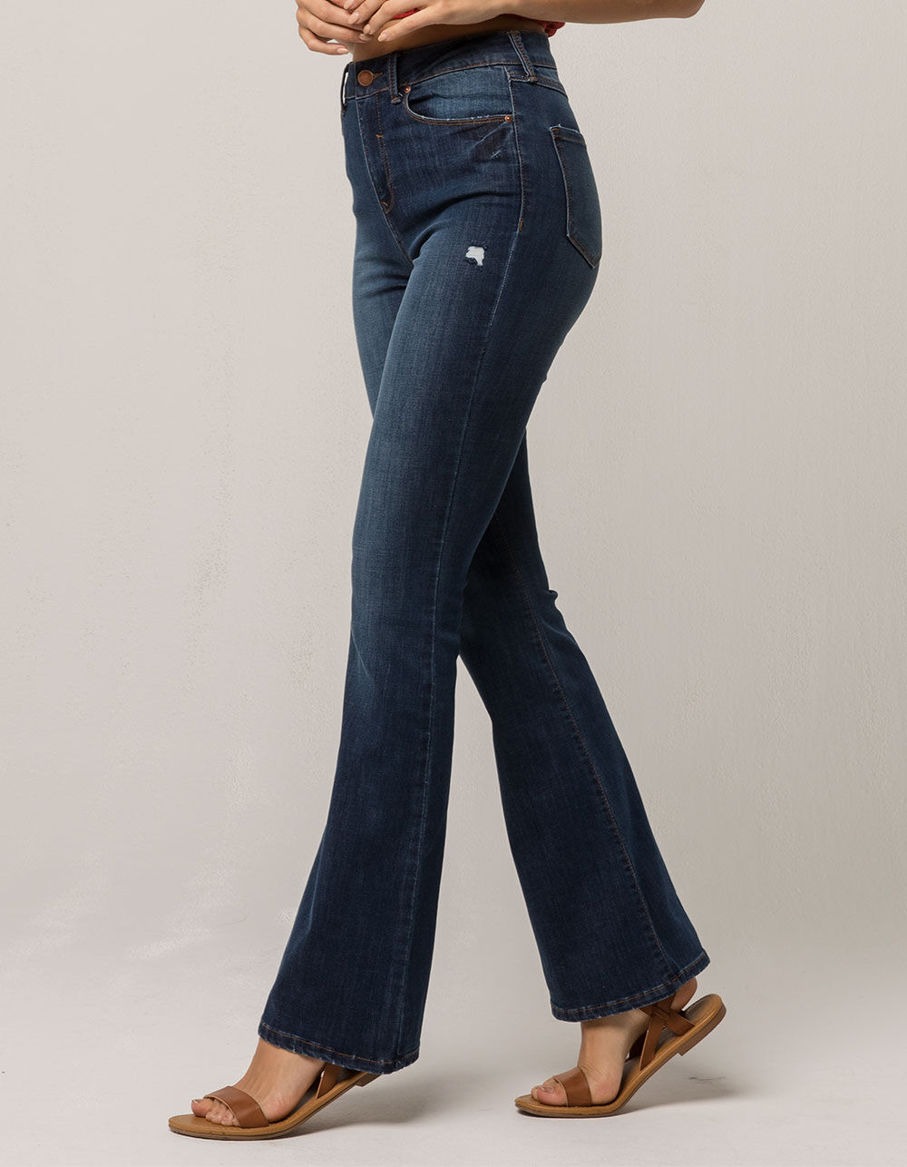 IVY & MAIN High Waisted Flare Jeans