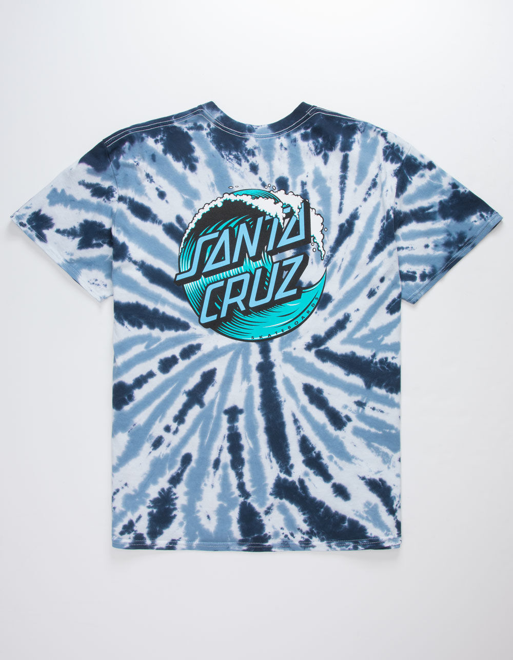 SANTA CRUZ Wave Dot Tie Dye T-Shirt