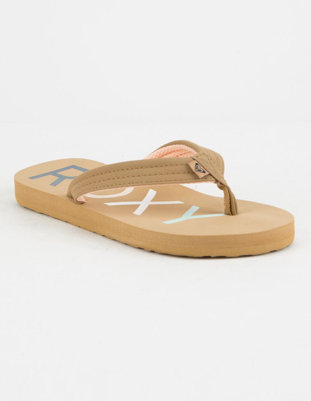 ROXY Vista II Tan Girls Sandals