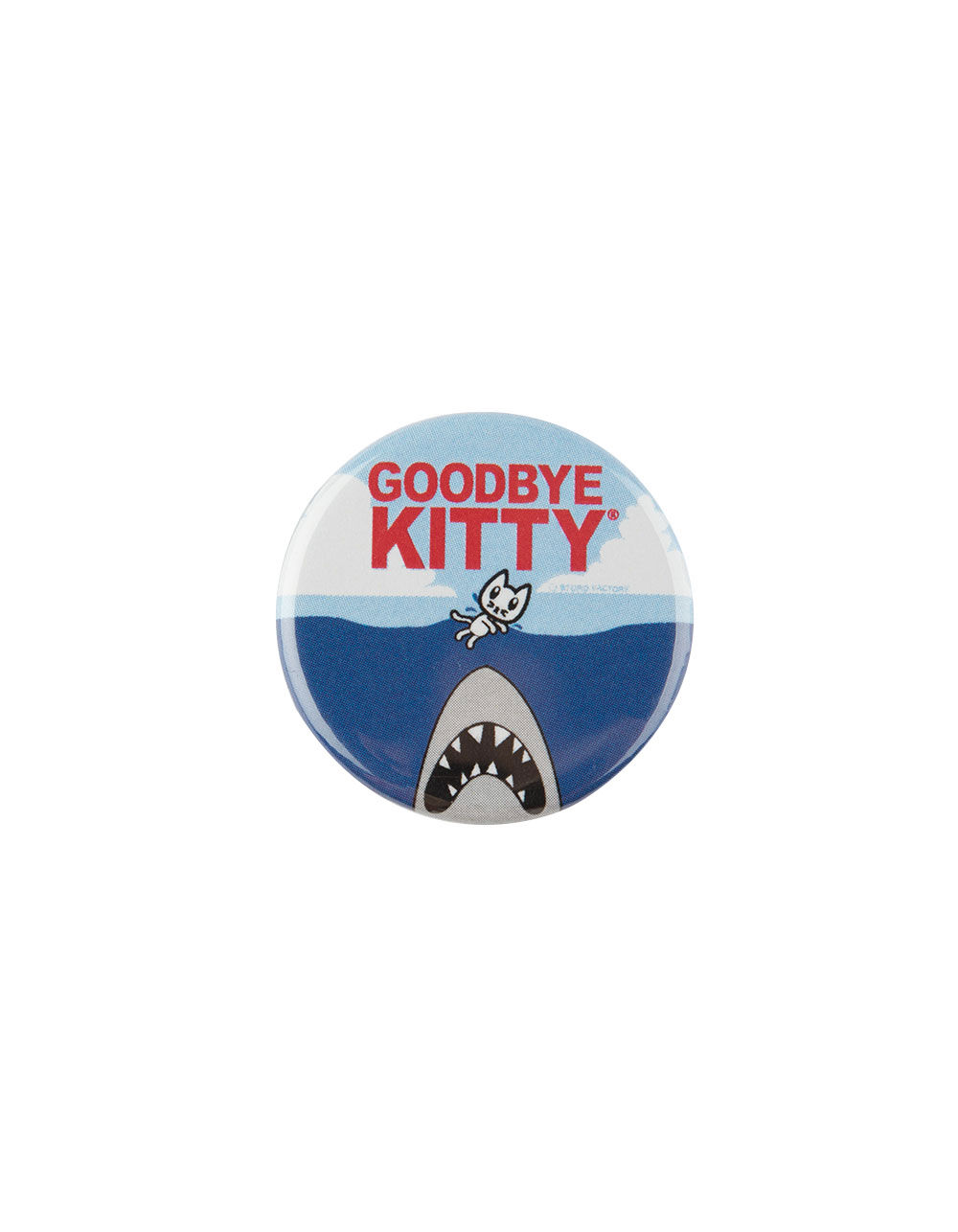 Image of GOODBYE KITTY PIN
