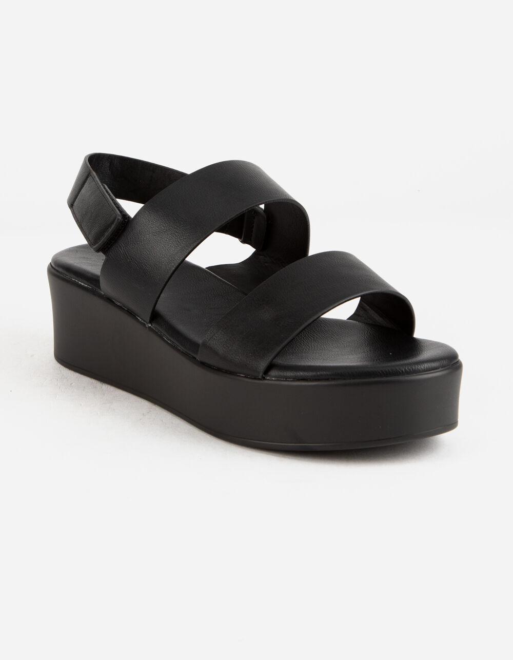 Image of BAMBOO 2 STRAP FLATFORM SANDALS