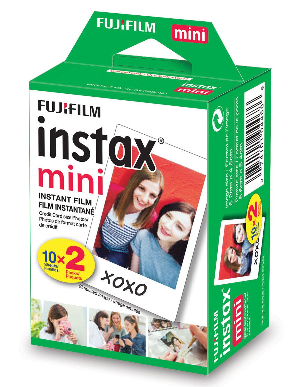FUJIFILM 20 Pack Instax Mini Film