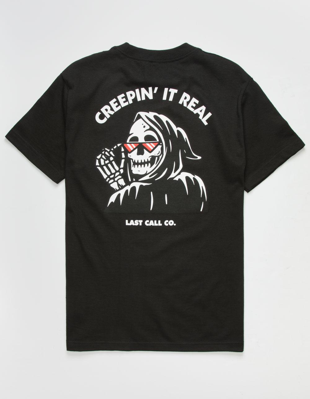 Image of LAST CALL CO. Creepin It Real T-Shirt
