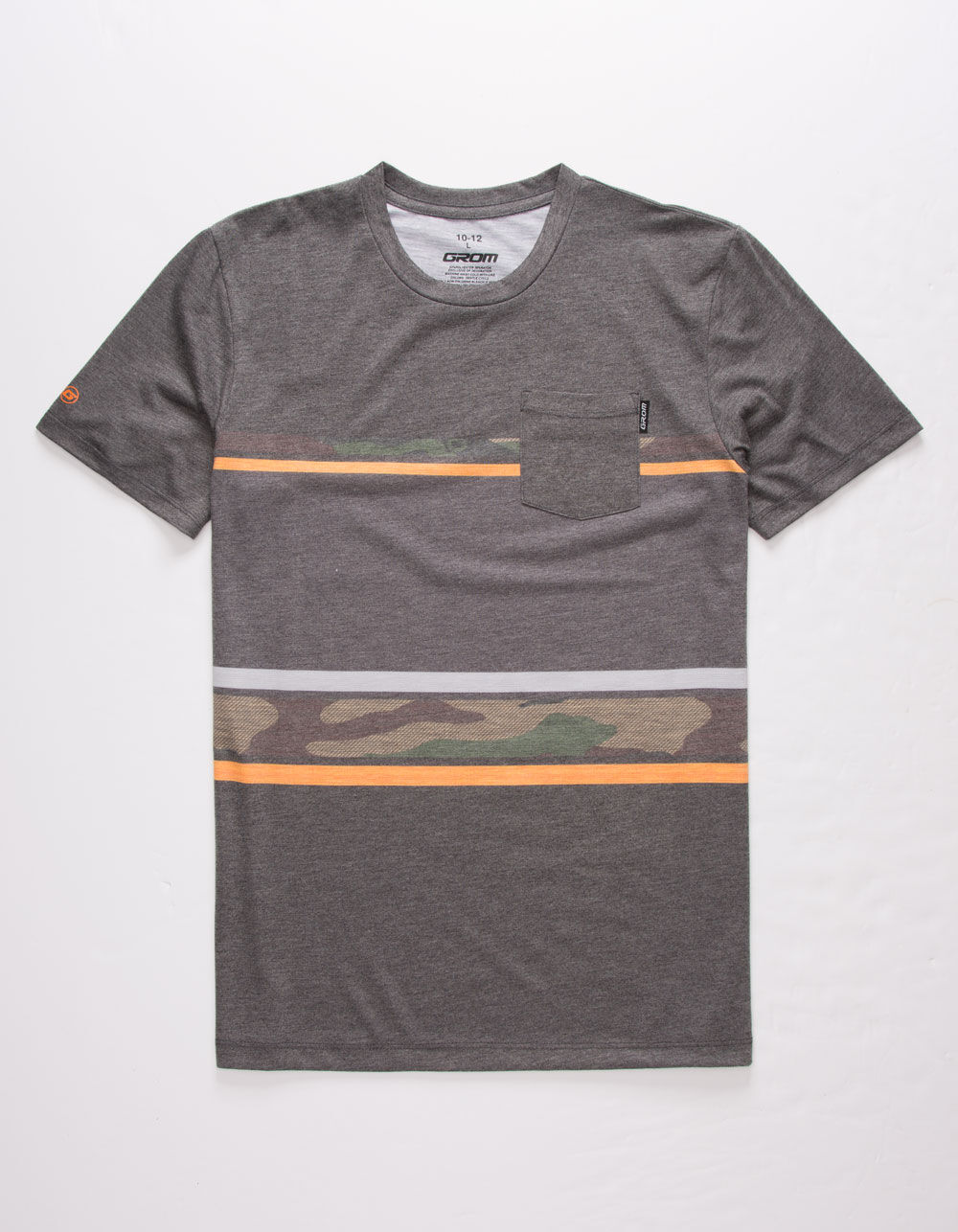 GROM Tailslide Boys Pocket Tee
