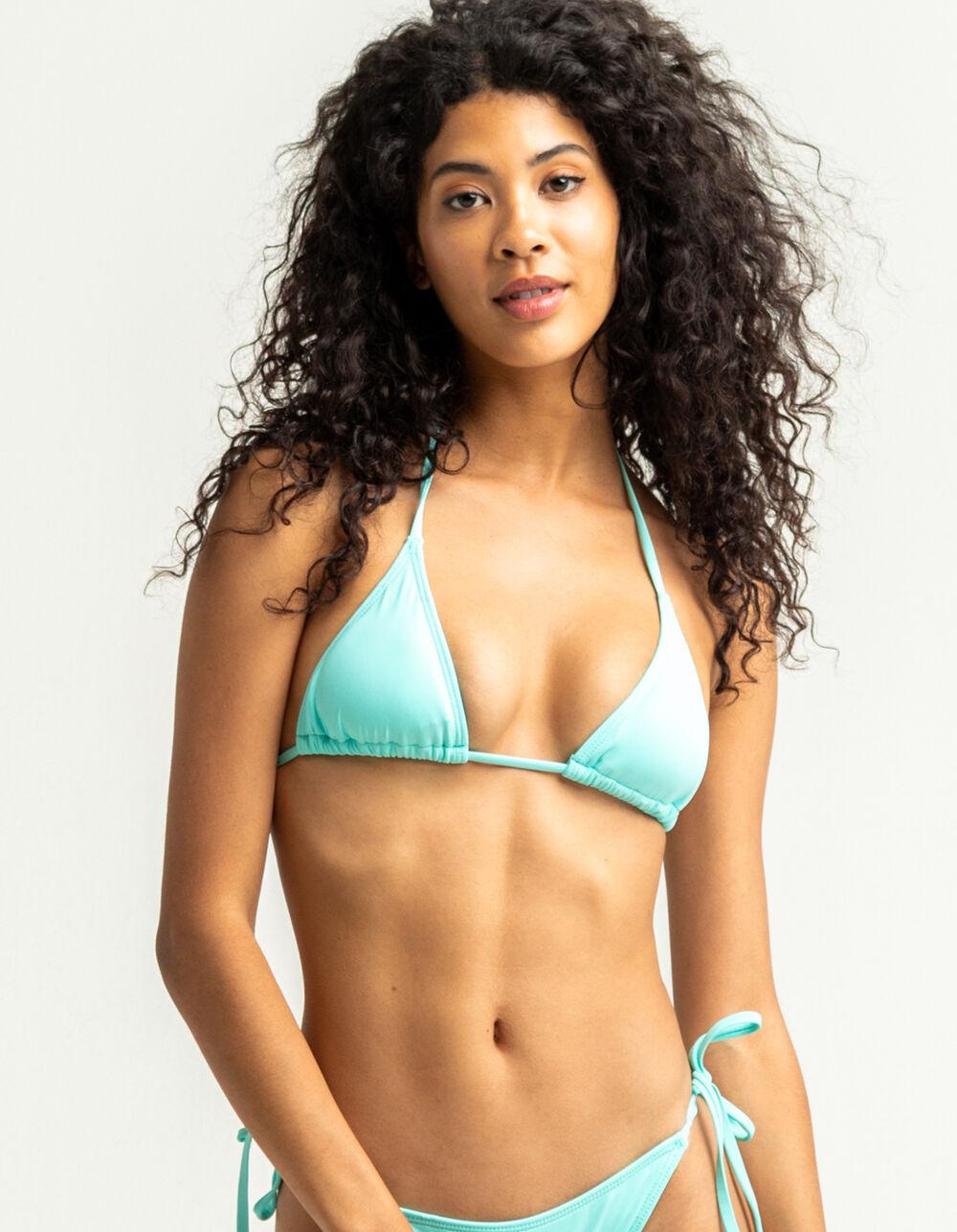 FULL TILT Frost Triangle Bikini Top