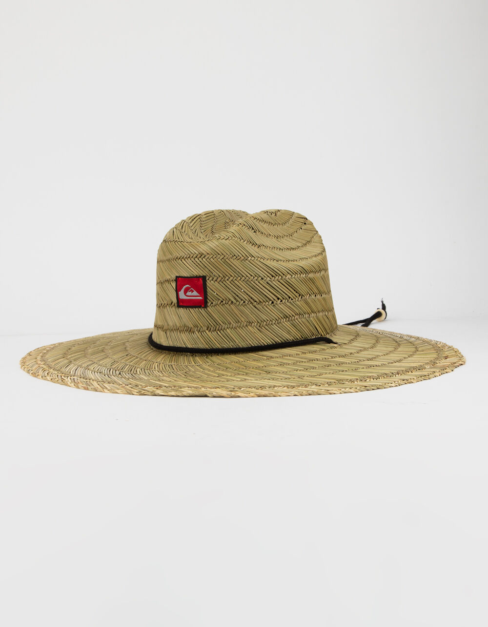QUIKSILVER Pierside Natural Lifeguard Straw Hat