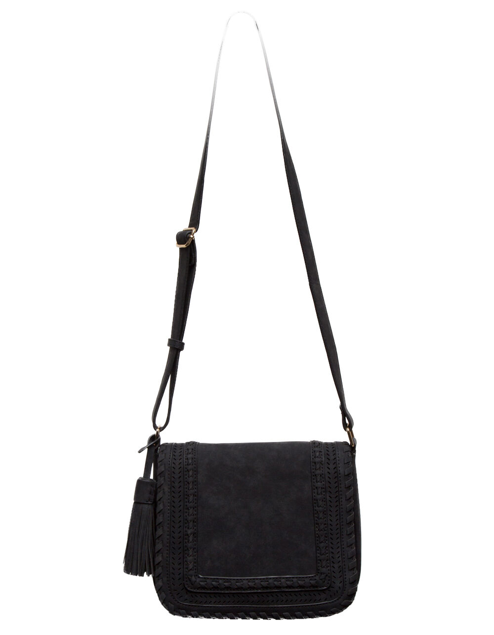 VIOLET RAY KOURTNEY BLACK CROSSBODY BAG