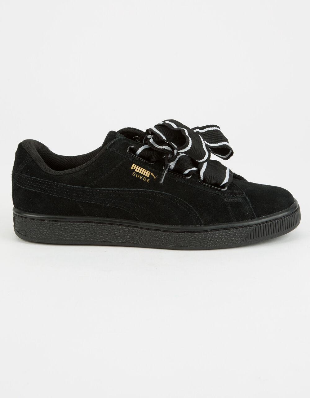 PUMA Suede Heart Satin Shoes