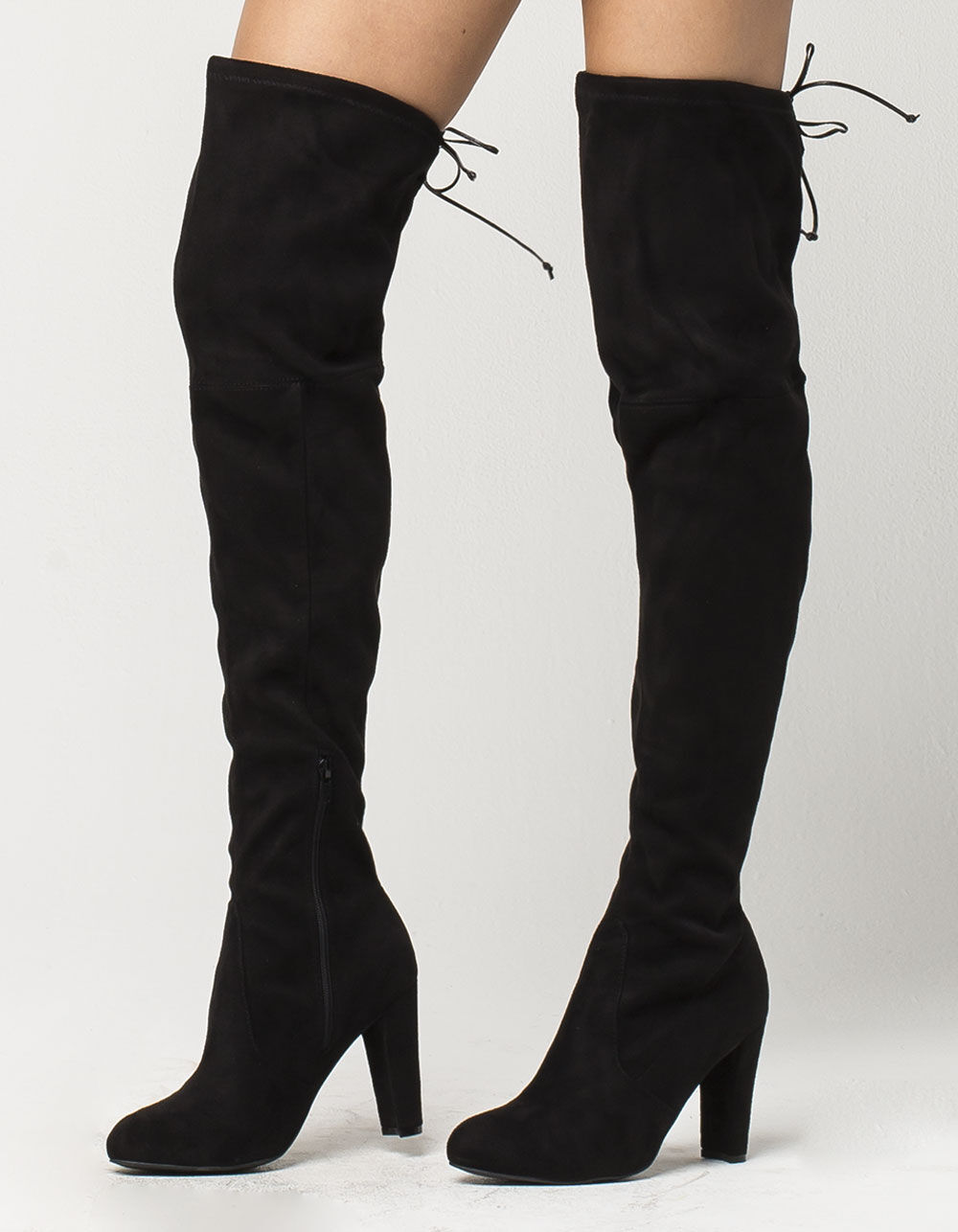 WILD DIVA Over The Knee Heeled Boots
