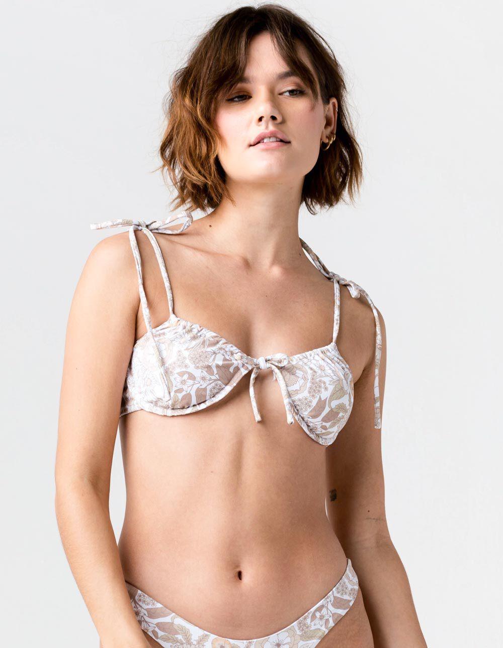 CHARLIE HOLIDAY Florence Bralette Bikini Top