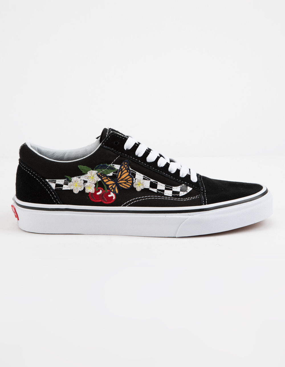 VANS Checker Floral Old Skool Shoes