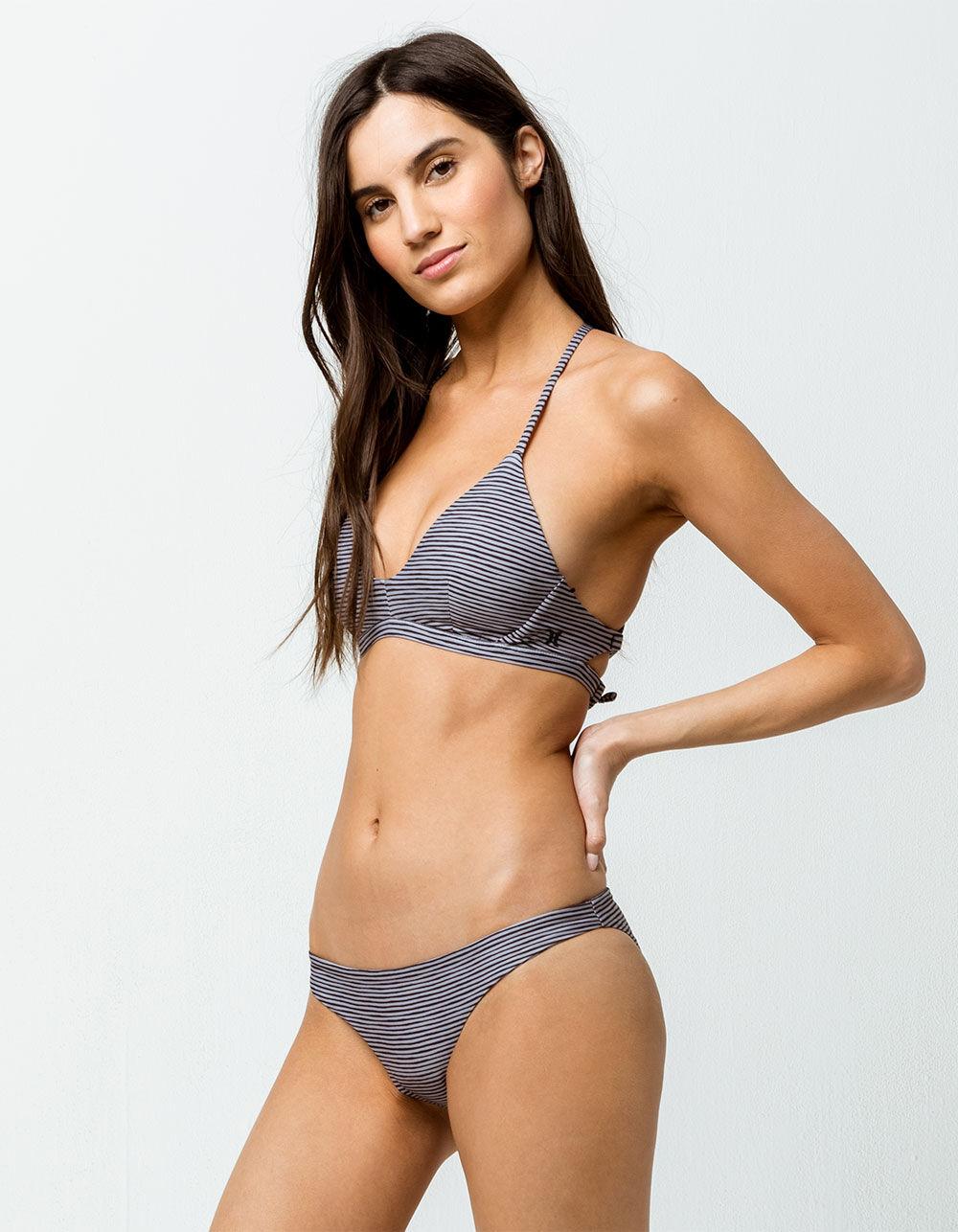 HURLEY Outrigger Smiley Hipster Bikini Bottoms