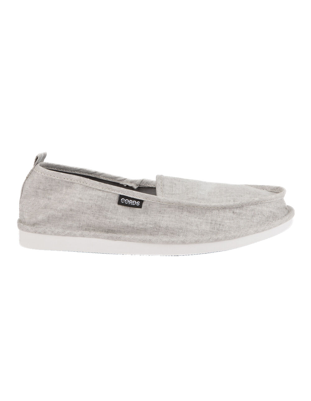 Image of CORDS DRAPER DECONSTRUCTED GREY SLIPPERS