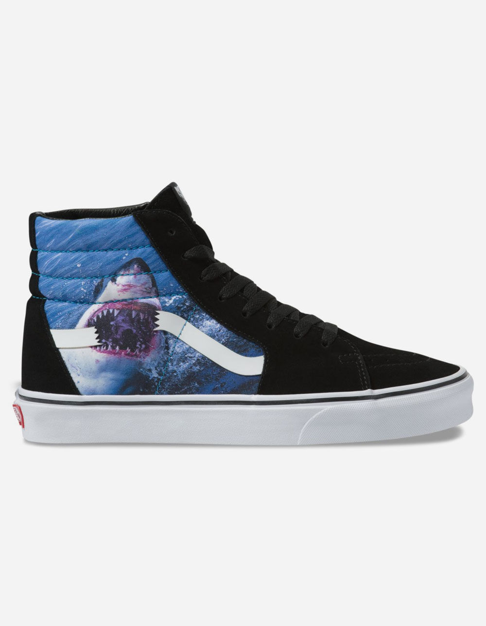 VANS x Shark Week Sk8-Hi Black & True White Shoes