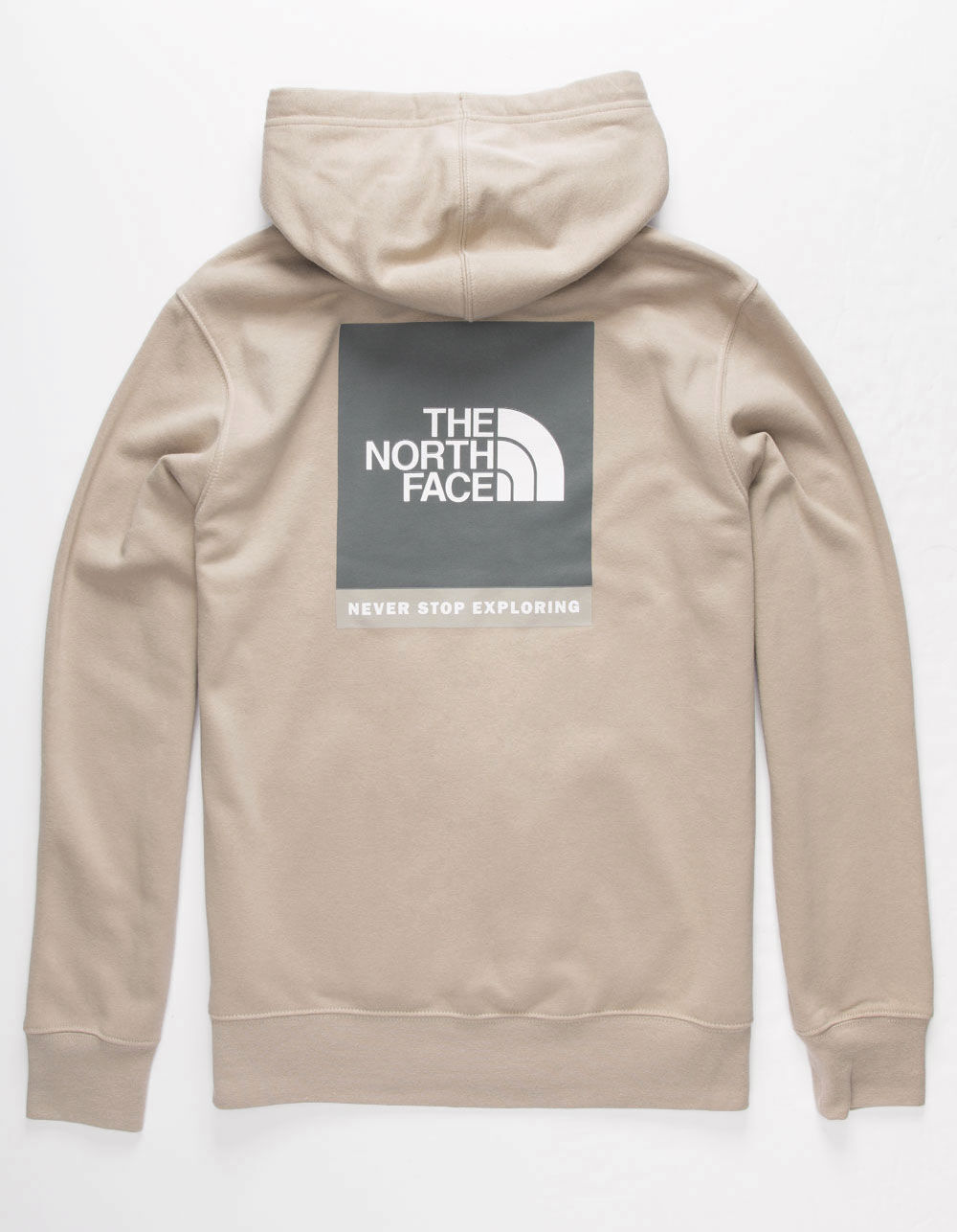 THE NORTH FACE Red Box Explorer Beige Hoodie