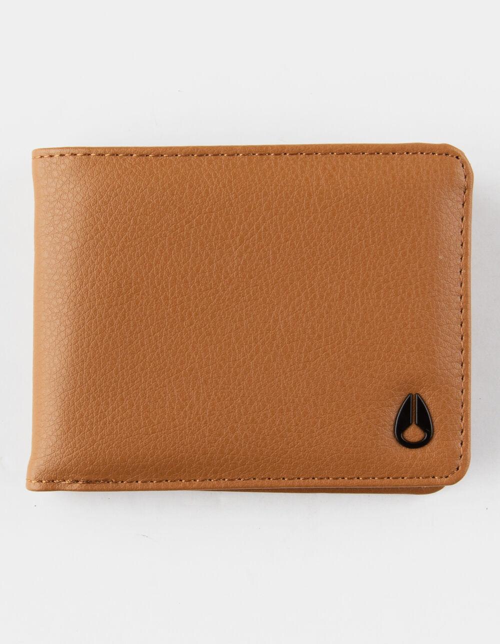 NIXON Cape Vegan Leather Saddle Wallet