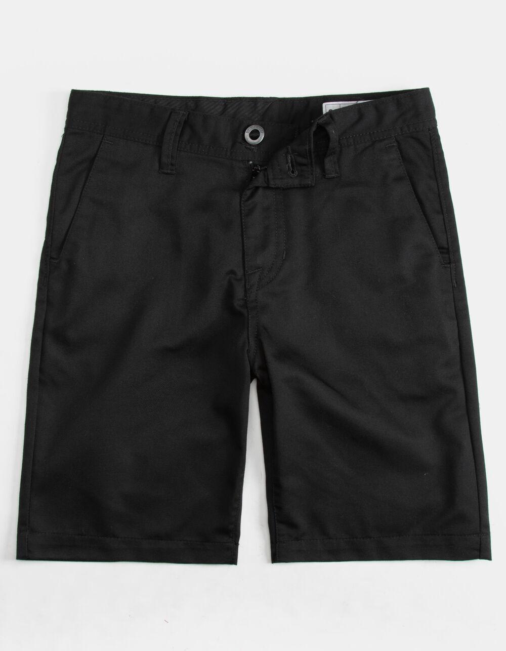 VOLCOM Frickin Chino Black Boys Shorts
